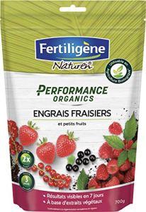FERTILIGENE Engrais Fraisiers et Petits Fruits Performance Organics, 700gr