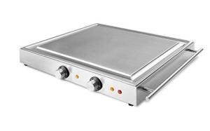 Formitable Edelgrill M3000 Barbecue portable Teppanyaki – Fabriqué en Allemagne (barbecue de table professionnel, barbecue électrique jusqu'à 250 °C)