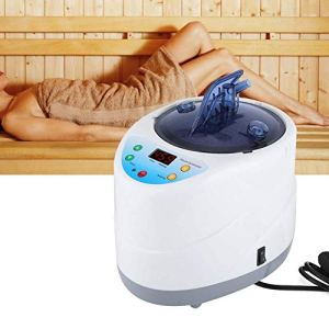 Fumigation Machine Sauna Machine, 4L Intelligent Fumigation Machine Télécommande Accueil Sauna Tente Steamer Spa Spa