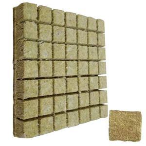 Grodan hydroponique croître agricole de coupe Bloc Semis Culture Soilless Substrat pour Rockwool Starter Plugs 50pcs
