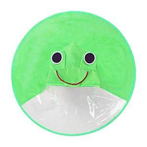 Imperméable à l'eau avec soucoupe volante pour enfants – Cape de dessin animé – Parapluie à capuche portable pour enfants