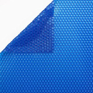 International Pool Protection Bâche solaire 600 microns Eco pour piscine 6 x 3 m sans renfort