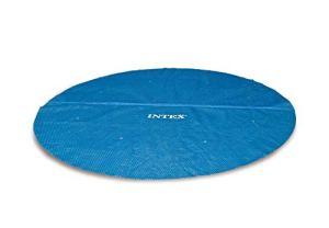 Intex 29025 Bâche à bulles, Bleu, 538 X 538 X 1 cm