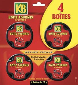 KB Fertiligène Anti Fourmis Boites Appat, x4