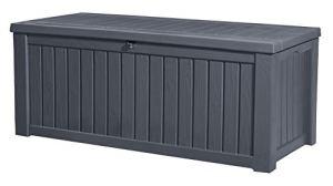 KETER Coffre de rangement extérieur ROCKWOOD – 570 litres