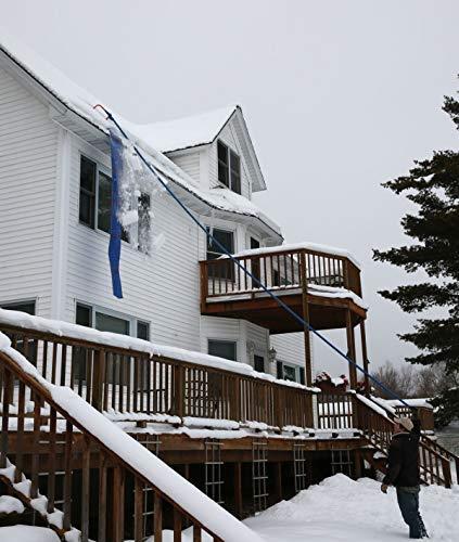 Kit d'extension de poignée avalanche: longueur totale de 8 m, poteaux bleus