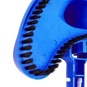 KIWEE Tête d'aspiration flexible pour piscine – Bleu