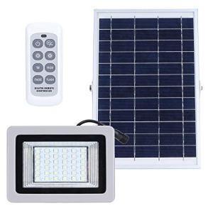 Lazimin Projecteur Solaire, Lampe d'éclairage de Paysage télécommandée colorée à LED RVB, IP65 étanche, pour Jardin extérieur, Hangar, Grange