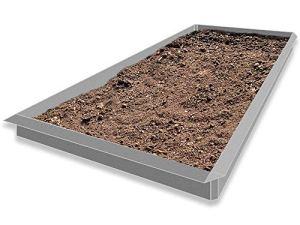 Les idées de la tôle depuis 1920 type 02 VDH Galvalume® Alu Zinc 8-pièces 4 x 1,0 m + 4 x angle 90°