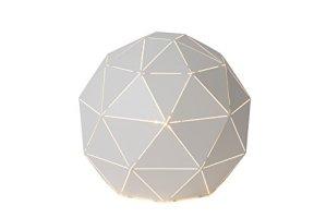 Lucide OTONA – Lampe De Table – Ø 25 cm – Blanc