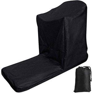 Massage-AED Housse De Protection pour Tapis Roulant Anti-UV, Anti-poussière Et Imperméable en Tissu Oxford 210D avec sous-Couche Plaquée Argent Et Fermeture Éclair sur Le Devant