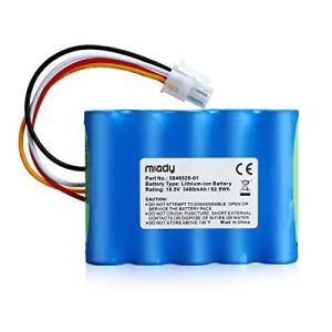 Miady Batterie de rechange (3400 mAh, 18,5 V) pour robot tondeuse avec Automower Husqvarna 310 Modèle (2015,2016,2017,2018), 315 modèles (2015,2016,2017,2018) Batterie pour robot tondeuse