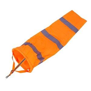 Mikrokos Windsock – 30″Polyester Windsock Outdoor Windsock Sock Bag with Reflective Belt