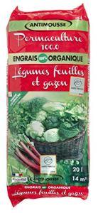 Miscanthus Green Care – Engrais Organique antimousse pour Gazon et légumes Feuilles – 20 litres