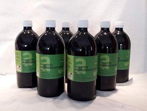 Multikraft Engrais Actif pour microorganismes Actifs (EM-Actif) 6 x 1 l FL.