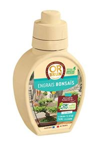 Or brun Engrais bonsais UAB, 250ml, Bleu