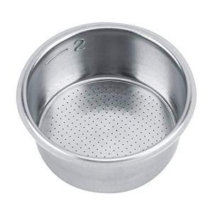 Panier de Filtre, Panier de Filtre en Acier Inoxydable de la Plus Haute qualité, économisez Votre Argent Novice pour Tous Les Baristas Professional Kitchen Home