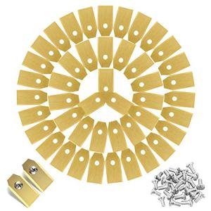 Preciva 45 Pcs Lames de Rechange pour la Tondeuse, Lame de Tondeuse adapté à Husqvarna/Automower/Gardena