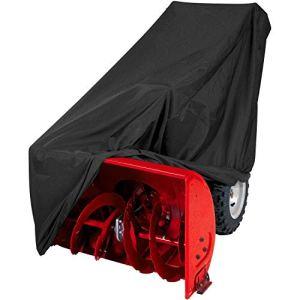 Risareyi 10PCS étanche anti-poussière souffleuse Cover – 47″L x 40″ H x 32″ W All Weather Cover Protection avec sac de rangement – Heavy Duty 210D durable