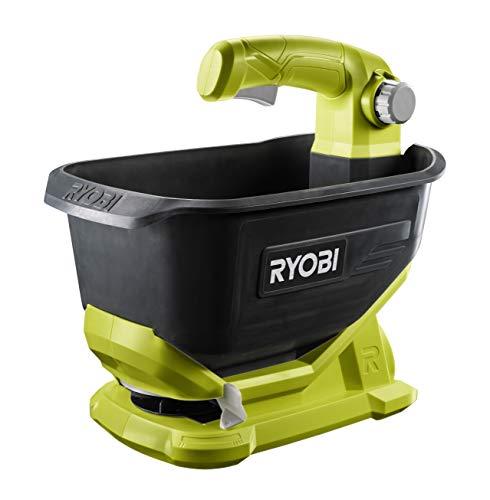Ryobi OSS1800 Épandeur universel 18V – Réservoir 4l – Largeur d'épandage réglable (2,5 à 3,5m) – Sans batterie ni chargeur