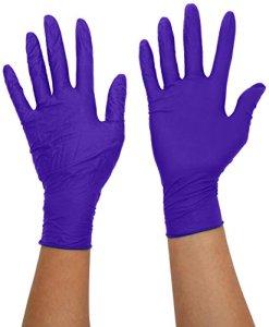 safeskin 038829KIMTECH SCIENCE Violet Gants en nitrile–taille XL, longueur 300mm (manchette)