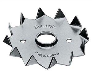 Simpson C2-75M16G-B Bulldog C2-75 E 75/M16 Cheville à disque unilatérale avec dents