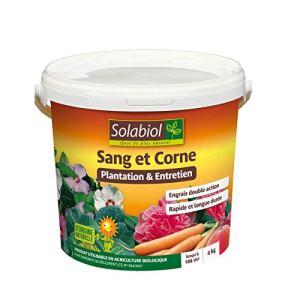 Solabiol SOMIX04 4 Kg | Effet Rapide (Sang) et Longue durée (Corne), Puissant