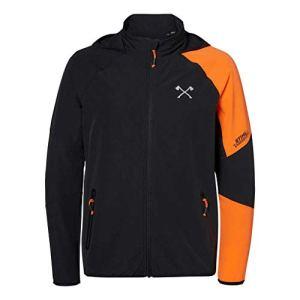 Stihl Veste coupe-vent orange/noir (M)