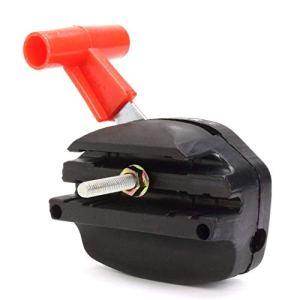 TF Câble d'accélérateur universel pour tondeuse à gazon, interrupteur de commande pour machine de jardin, câble d'accélérateur, kit de poignée pour tondeuse à gazon électrique à essence