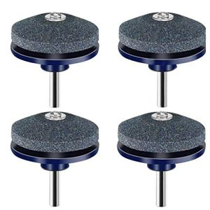 Tondeuse Sharpener Tondeuse Balancer outil Grinder roue de pierre pour pouvoir Perceuse main Kit de réparation 4PCS