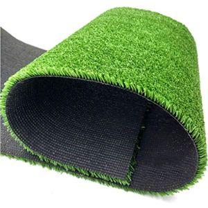 WJ Pelouse de Chantier en Gazon Artificiel Décoration intérieure et extérieure Toit de pelouse Décoration de Tapis de pelouse en Plastique antiaérien (Color : T 1.5cm, Size : 2 * 5m)