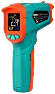 XINGYU Thermomètre à écran Couleur, détecteur de température, thermomètre de température de l'eau, testeur de température Industrielle, Bleu avec thermomètre d'affichage Outils ménage