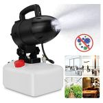 XUMI 5L Électrique ULV Brumisateur, ULV Machine Pulvérisateur Désinfection Portable Mosquito Killer Lieux Publics, Jardin, Industriel