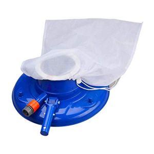 YBINGA Outil de nettoyage de piscine pour aspirateur de piscine avec tête d'aspiration et filet de nettoyage pour aspirateur