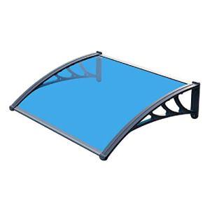 YJKDM Auvent en Acier en Plastique, auvent de Porte et de fenêtre, Peuvent être utilisés pour empêcher la Neige et la Pluie sur Le Balcon du Toit du Garage
