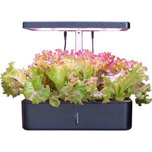ZDYLM-Y Potager d'Intérieur, Système de Culture hydroponique avec Ventilateur Intelligent et réservoir d'eau de 4000 ML, pour la Culture des Plantes