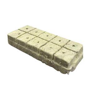 zhaibiao-us Lot de 10 blocs de laine de roche pour plantes