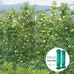 Anpro Filet Anti Oiseaux,2pcs 4 * 10m Vert Jardin Oiseau Filet de pour Plante Filet de Protection,Protéger Les Plantes, Les Fruits, Les Fleurs et Les légumes,Maille de 15 mm