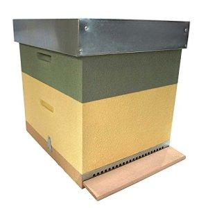 AYUMA ruche Langstroth 1/2hausse avec cire