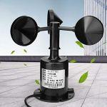Capteur de direction du vent, émetteur de vent, DC 10~30V mesurant la décoration du vent pour les centrales électriques Stations de surveillance météorologique de l'aviation marine