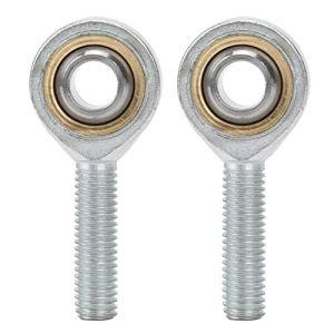 Demeras 2PC Rotule Roulement Embout de Tige Roulement Filetage Sphérique Roulement Rotule pour Cylindres Hydrauliques Forgeage Machines