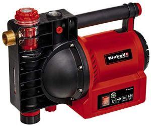 Einhell Pompe d'arrosage GE-GP1145ECO (1100W, indicateur de niveau d'eau/d'encrassement/d'aspiration, bouchon de remplissage, pré-filtre avec clapet anti-retour, avec adaptateur)