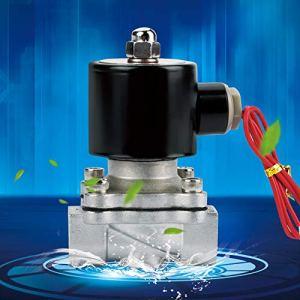 Électrovanne à deux voies pour tuyau AC 220 V G1 / 2″ Électrovanne électrique moins de génération de chaleur Filetage de haute précision pour arrosage par aspersion de jardin pour contrôles de