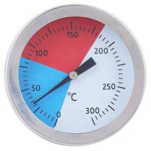 Fydun Thermomètre de four TS ‑ BX500 0‑300 ℃ Grill BBQ Thermomètre Table de mesure de température en acier inoxydable