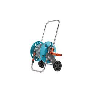 """Gardena Carro Aquaroll S (en Caja) Con 20 m de manguera Classic, 13 mm(1/2"""") de piezas Original System y Lanza rociadora, Estándar"""