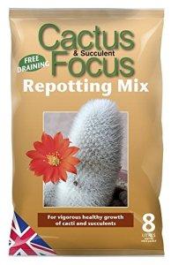 Growth Technology Terre à Cactus–Mélange de Cactus Focus rempotage 8L