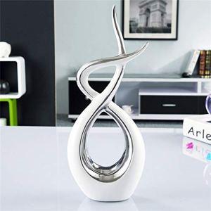 GUANGHEYUAN-J Céramique Fire Contratenue Creative Abstrait Porcelaine Handicaft Salon Cabinet Vin Cabinet TV (Color : B)