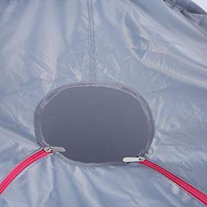 Haowecib Vapeur à Vapeur, Tente de Sauna de 1,5 L, pour Aider la qualité du Sommeil à favoriser Le métabolisme, Expulser l'humidité et Le Froid(Pink)
