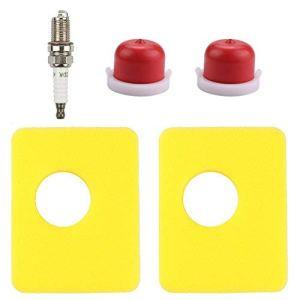 Harbot 799579 Lot de 2 filtres à air avec ampoule d'allumage 594281 pour moteur Briggs & ‿Stratton 08P502 09P602 09P702
