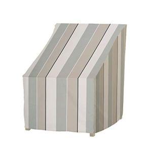 Housses de chaise de patio pour meubles d'extérieur – Convient jusqu'à 105,5 x 86,5 x 99 cm – Imperméable et durable